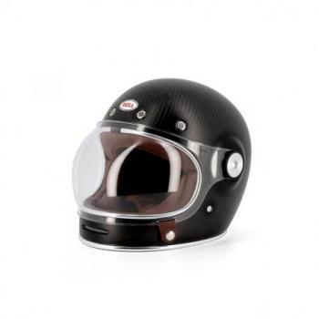 Casque BELL Bullitt Carbon Solid noir mat taille XXL