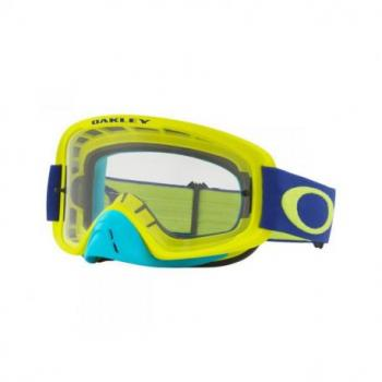 Masque OAKLEY O Frame 2.0 Lime Blue écran transparent