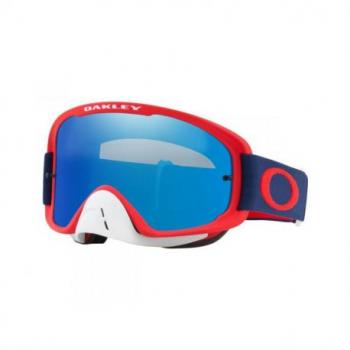 Masque OAKLEY O Frame 2.0 Red Navy écran Black Ice Iridium