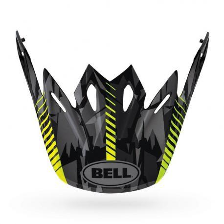 Visière BELL Moto 9 Flex / Moto 9 Camo jaune