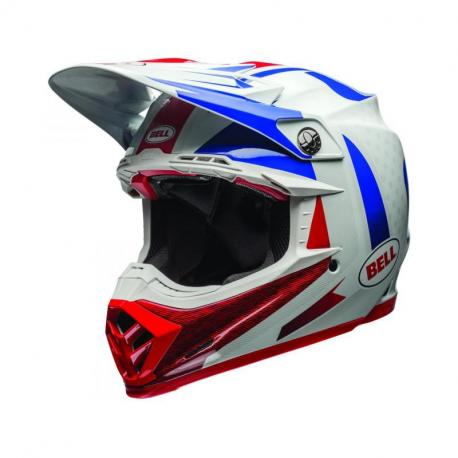 Casque BELL Moto-9 Flex Vice Blue/Red taille XXL
