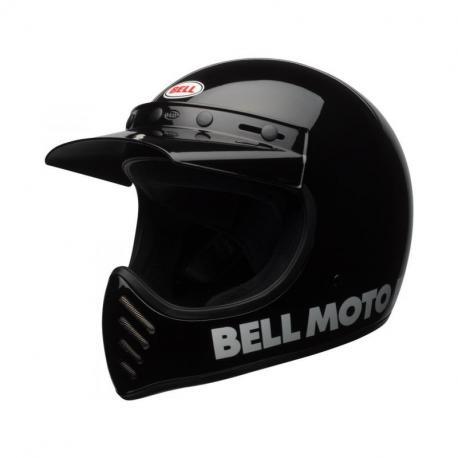 Casque BELL Moto-3 Classic Black taille XXL