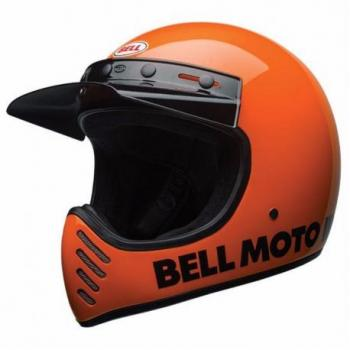 Casque BELL Moto-3 Classic Neon Orange taille XL