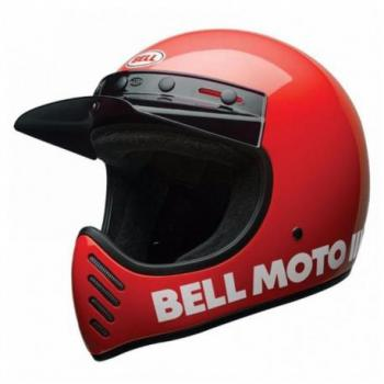 Casque BELL Moto-3 Classic Red taille XS
