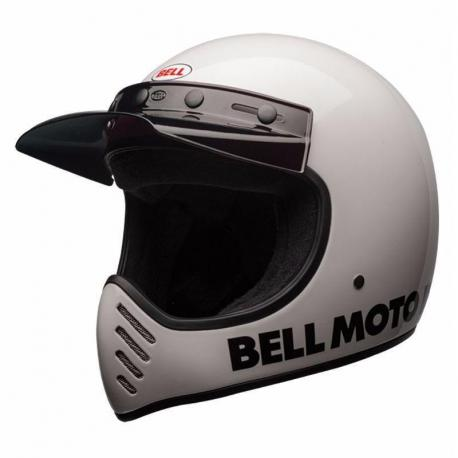 Casque BELL Moto-3 Classic White taille XS