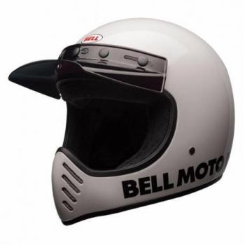 Casque BELL Moto-3 Classic White taille XXL