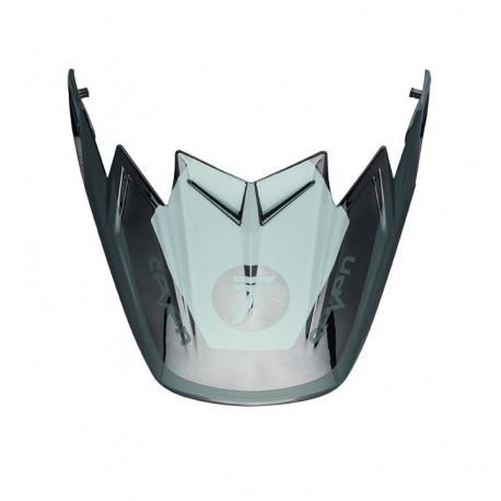 Visière Flex BELL Moto 9 Flex / Moto 9 Rogue noir/chromé