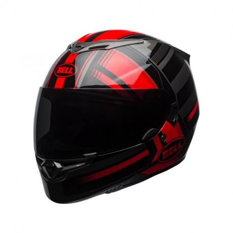 Casque BELL RS-2 Gloss Red/Black/Titanium Tactical taille L