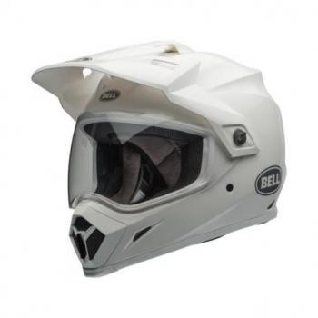 Casque BELL MX-9 Adventure MIPS Gloss White taille XXL