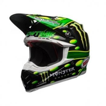 Casque BELL Moto-9 Flex MC Monster Replica 18.0 Gloss taille XL