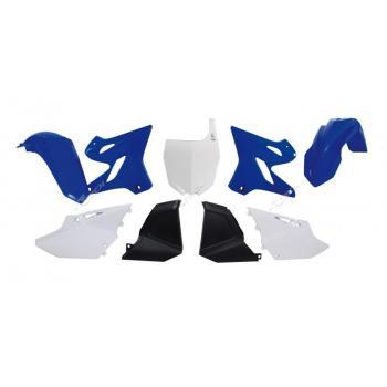 Kit plastique RACETECH Replica (15-16) bleu/blanc Yamaha YZ125/250