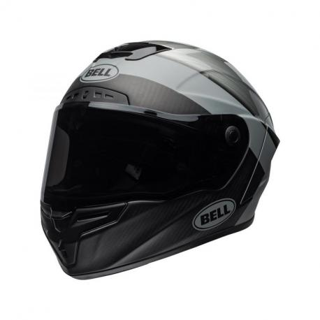 Casque BELL Race Star Flex Surge Matte/Gloss Brushed Metal/Grey taille S