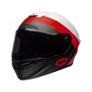 Casque BELL Race Star Flex Surge Matte/Gloss White/Red taille XXL