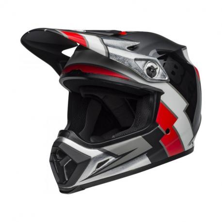 Casque BELL MX-9 Mips Twitch Replica Matte Black/Red/White taille M