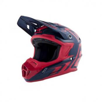 Casque ANSWER AR1 Edge Midnight/Bright Red taille L