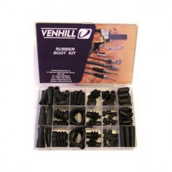 Coffret accessoires cables Venhill butée de gaine + régleur de câble