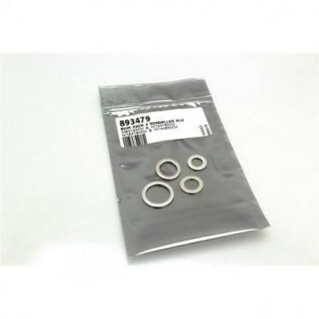 Pack 4 rondelles joint de vidange BIHR alu M8/M10/M12/M14