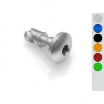 Kit vis attache rapide LIGHTECH cobalt alu (17 pièces) Mv Agusta F4 750/1000