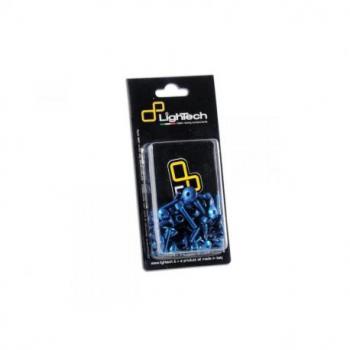 Kit vis de bulle LIGHTECH cobalt alu (6 pièces) Suzuki Gsx-R600/Gsx-R753