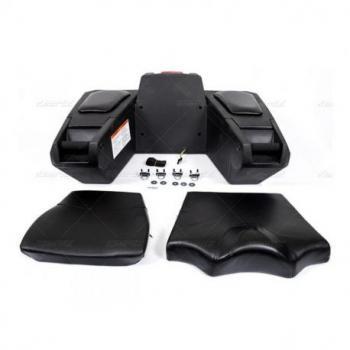 Coffre arrière Deluxe quad noir