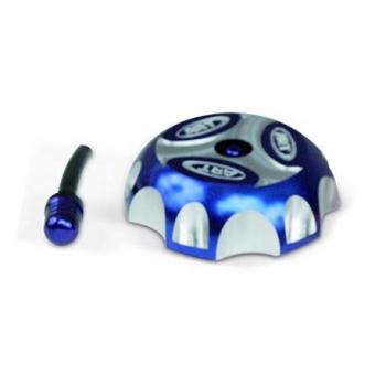 Bouchon de réservoir ART alu bleu