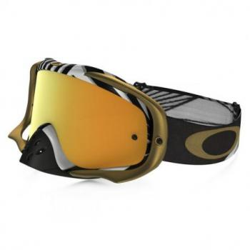 Masque OAKLEY Crowbar Jeffrey Herlings Signature Series écran 24K Iridium