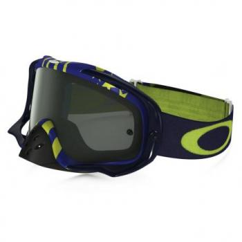 Masque OAKLEY Crowbar Flight Series Sunday Punchers bleu/vert écran Dark Grey