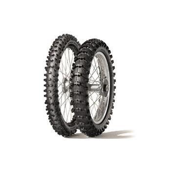 Pack de 2 pneus Sable DUNLOP Geomax MX-11 (80/100-21 - 110/90-19)